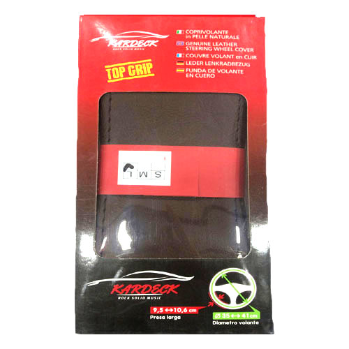 Genuine Leather Car Steering Cover